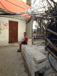 Children play in these areas connecting alleys - Burj El Barajneh - Beirut