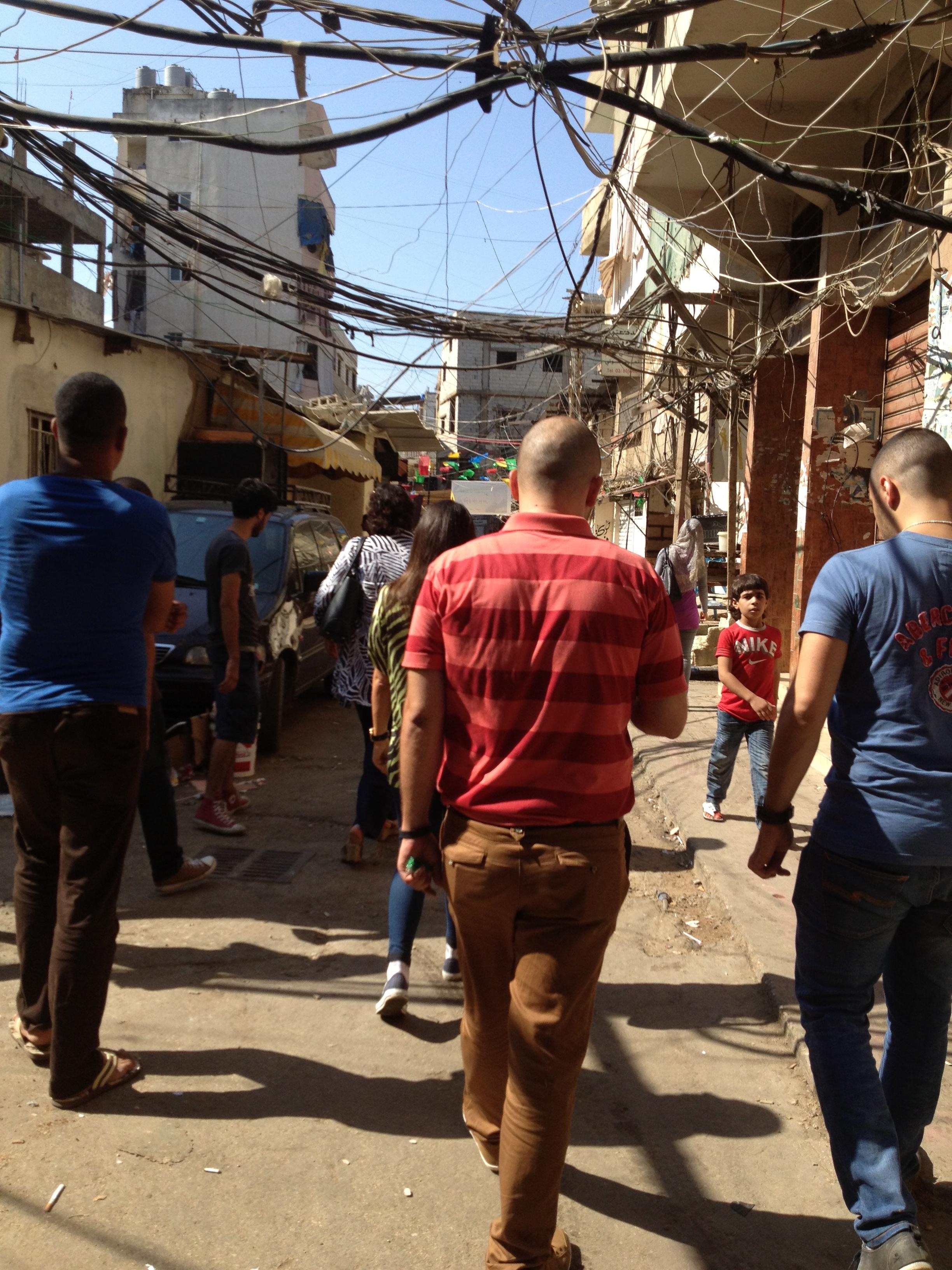 Welfare Association Youth Employment Services Team visits Burj El Barajneh - Beirut
